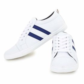 Digitrendzz Men's Sneakers/Casual Shoes/Shoes for Men's Casuals Sneakers/Unique Shoes (9, White Blue (Copy)